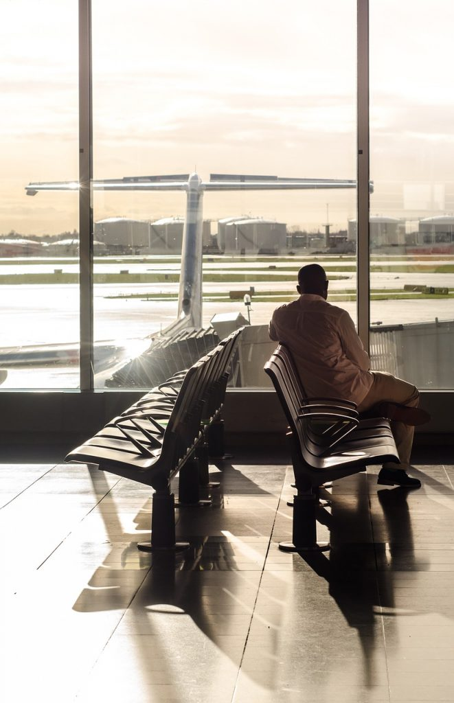 terminal, gate, waiting