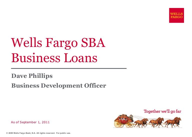 wellsfargo business loan