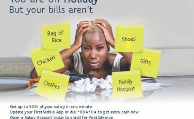 how to apply for First bank salary advance