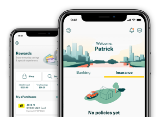 Suncorp mobile app, internet banking